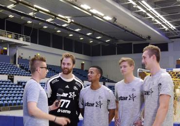 THW Kiel-Stars erobern Radio FOM