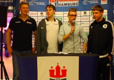 Das ganze Video: FOM moderiert offizielle Hamburg-Pressekonferenz