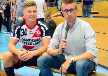 Von der A-Jugend in die erste: Jörn Persson über seinen Sommer bei der SG Flensburg-Handewitt